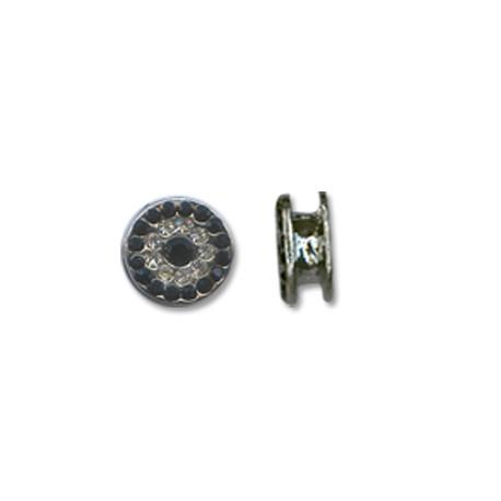 Z/A Round With Rhinestones10mm