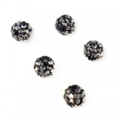 Bead 6mm with Strass