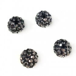 Bead 8mm with Strass