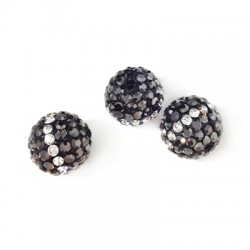 Bead 10mm with Strass