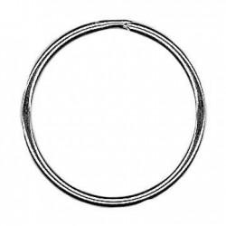 Anello Portachiavi in Acciaio 48x2.3mm