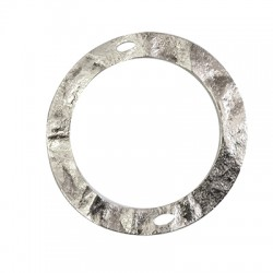 Μεταλλικό Ορειχάλκινο (Μπρούτζινο) Κύκλος 2 Τρύπες 60mm