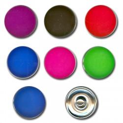 Bottoni con Rivetto Rotondi Colorati 18mm (set 7pz)