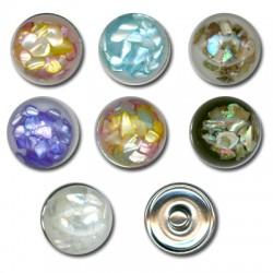 Button Shells 18mm (7pcs)