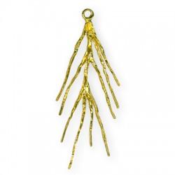 Brass Cast Tree branch 23x41mm