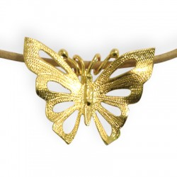Brass Slider Butterfly 47x38mm