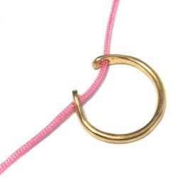 Brass Cast Finger Ring 2x20mm