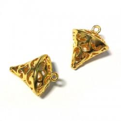 Brass Cast Cone 19x15mm
