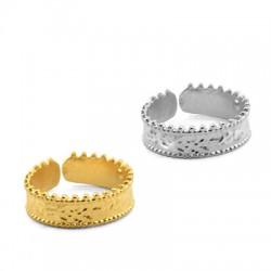 Brass Ring 19x6mm