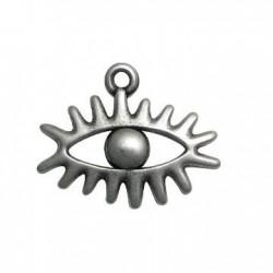 Zamak Charm Eye 23x30mm