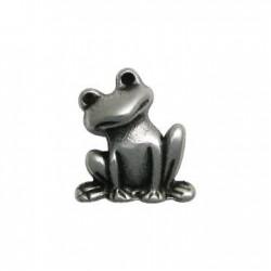 Zamak Charm Frog 19x22mm