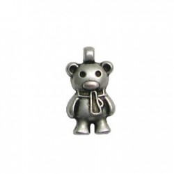 Zamak Charm Bear 9x17mm