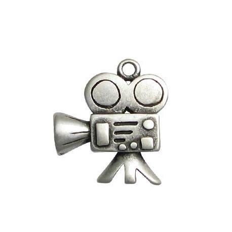 Μεταλλικό Ζάμακ Χυτό Μοτίφ Κάμερα 23x26mm