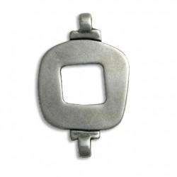 Μεταλλικό Ζάμακ Χυτό Στοιχείο Τετράγωνο Σύνδεσμος 27x43mm