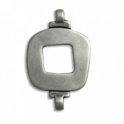Zamak Connector Square Hollow 27x43mm