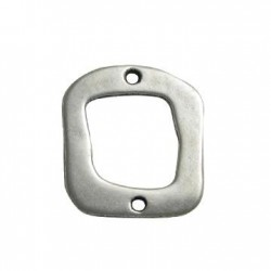 Zamak Connector Square Hollow 27x30mm