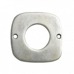 Intercalaire carré en Métal/Zamac, 36mm