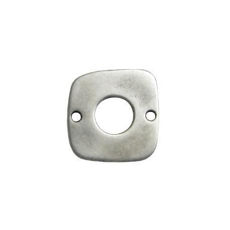 Intercalaire carré en Métal/Zamac, 26mm