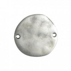 Μεταλλικό Ζάμακ Χυτό Στοιχείο Στρογγυλό για Μακραμέ 32mm