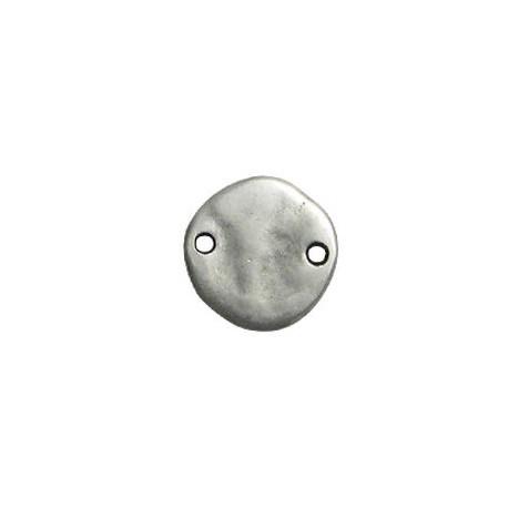 Μεταλλικό Ζάμακ Χυτό Στοιχείο Στρογγυλό για Μακραμέ 18mm