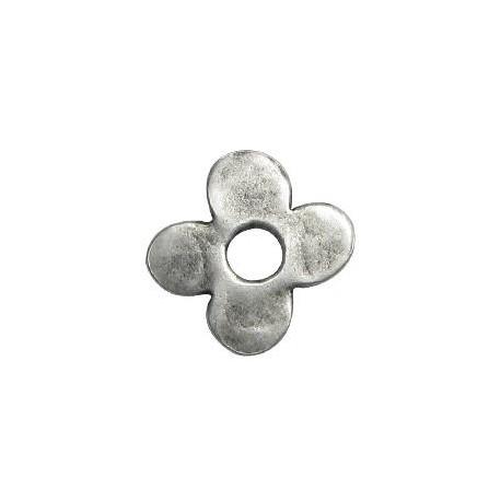 Μεταλλικό Ζάμακ Χυτό Μοτίφ Λουλούδι 30mm (Ø7.3mm)