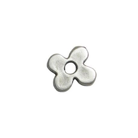 Μεταλλικό Ζάμακ Χυτό Μοτίφ Λουλούδι 15.5mm (Ø3.2mm)