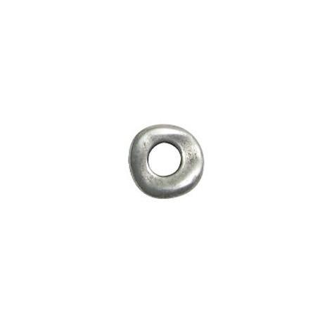 Anneau irrégulier en Métal/Zamac, 15mm (Ø 6.2mm)