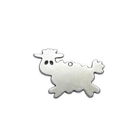 Μεταλλικό Ζάμακ Χυτό Μοτίφ Πρόβατο 32x46mm