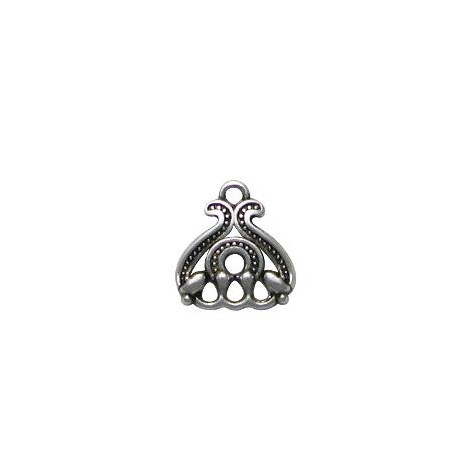 Charm in Zama Fiore 15x17mm