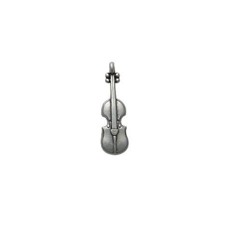 Μεταλλικό Ζάμακ Χυτό Μοτίφ Βιολί 7.5x23.5mm