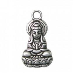 Zamak Charm Buddha 13x26mm