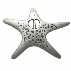 Zamak Pendant Sea Star 53x69mm
