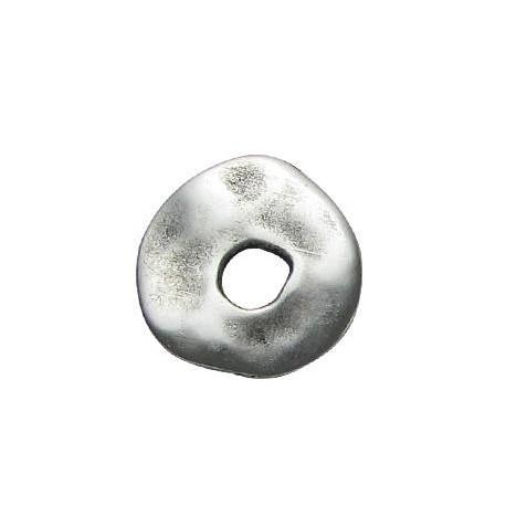 Μεταλλικό Ζάμακ Χυτό Στοιχείο Ακανόνιστο Δίσκος 22mm(Ø5.6mm)