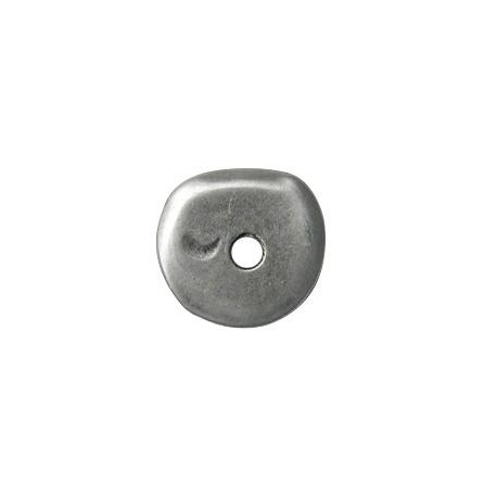 Zamak Disc Irregular 30mm (Ø 5.4mm)