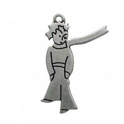 Ζάμακ Χυτό Μοτίφ Αγόρι με Κασκόλ 12x40mm