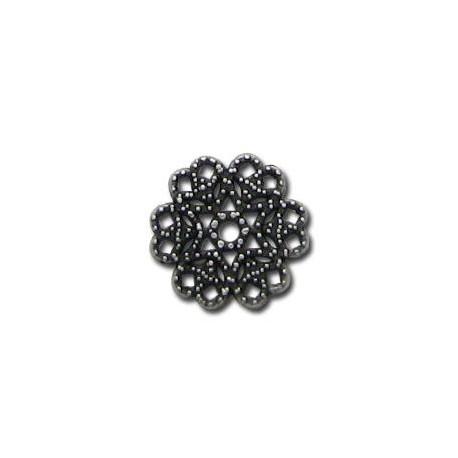 Μεταλλικό Ζάμακ Χυτό Στοιχείο Λουλούδι 14mm