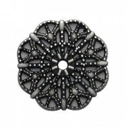 Μεταλλικό Ζάμακ Χυτό Μοτίφ Λουλούδι 22mm