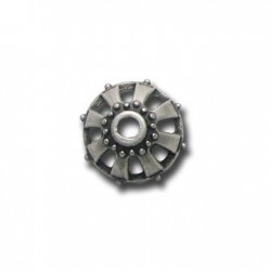 Zamak Bead Cap 19x10mm