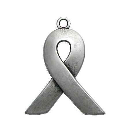 Μεταλλικό Ζάμακ Χυτό Μοτίφ ''Ενάντια στο AIDS'' 32x39mm