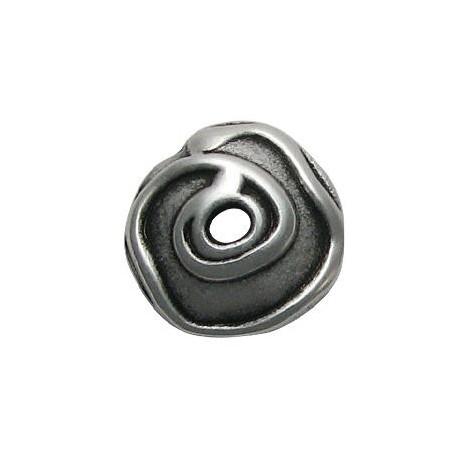 Μεταλλική Ζάμακ Χυτή Χάντρα Καπελάκι 19mm