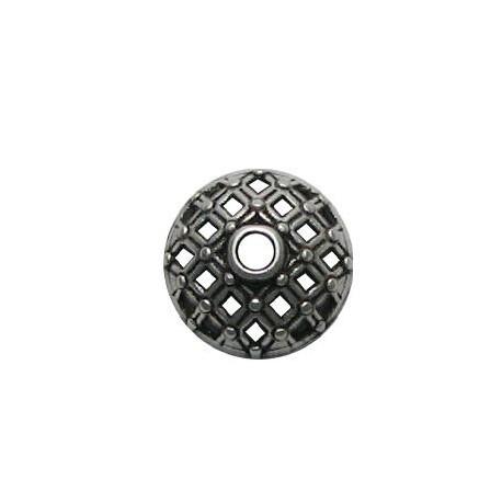 Μεταλλική Ζάμακ Χυτή Χάντρα Καπελάκι 15mm