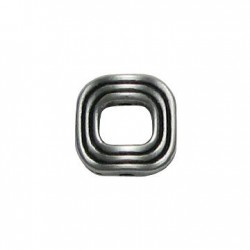Zamak Slider Ring Square Hollow 13mm (Ø 1.5mm)