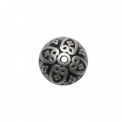 Zamak Bead Cap 10mm
