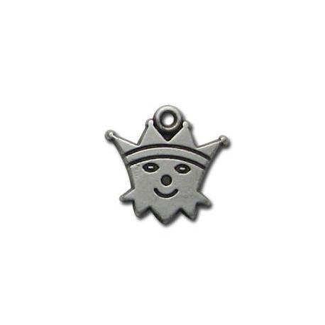 Zamak Charm Prince 16x15mm