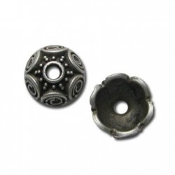 Zamak Bead Cap 15mm