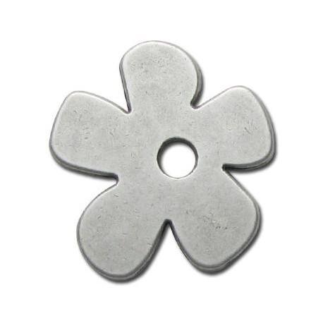Μεταλλικό Ζάμακ Χυτό Μοτίφ Λουλούδι 35mm (Ø 5mm)