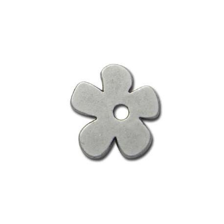 Μεταλλικό Ζάμακ Χυτό Μοτίφ Λουλούδι 20mm (Ø2.8mm)