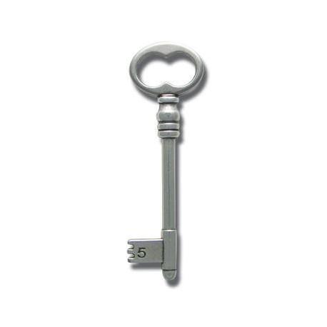 Μεταλλικό Ζάμακ Χυτό Μοτίφ Κλειδί 25x80mm