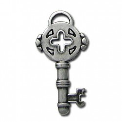 Μεταλλικό Ζάμακ Χυτό Μοτίφ Κλειδί 14x31mm