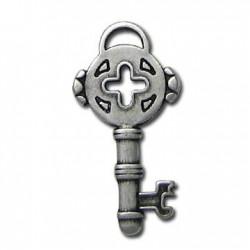 Zamak Charm Key 14x31mm